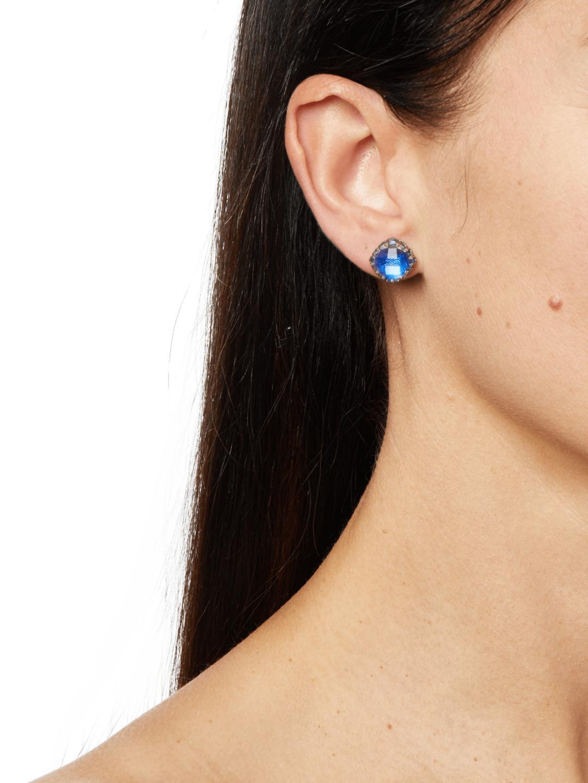 Large Post Earrings Lyst View Fullscreen