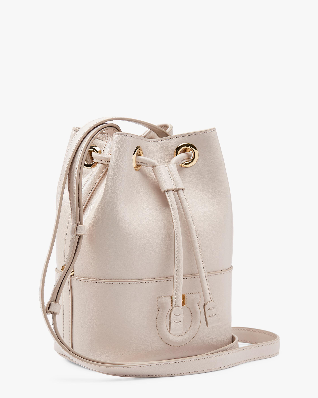 6e3faf8315d3 Lyst - Ferragamo Piccolo City Bucket Bag