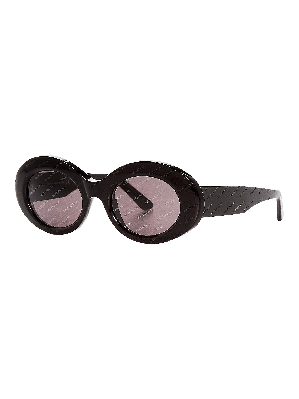 34cf77e5761 Balenciaga - Black Oval Logomania - Lyst. View fullscreen