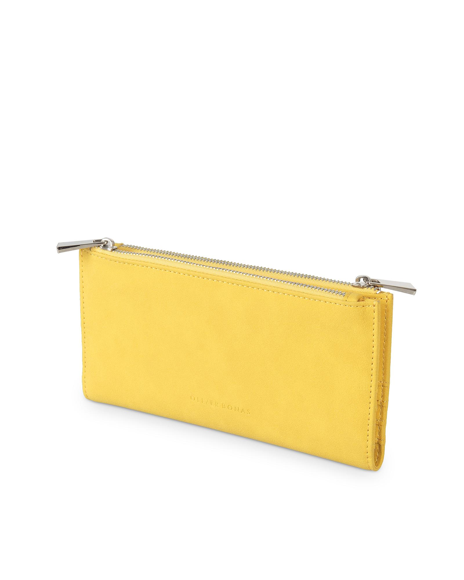 6f89e532bd2 Oliver Bonas Neela Yellow Fold Out Wallet in Yellow - Lyst