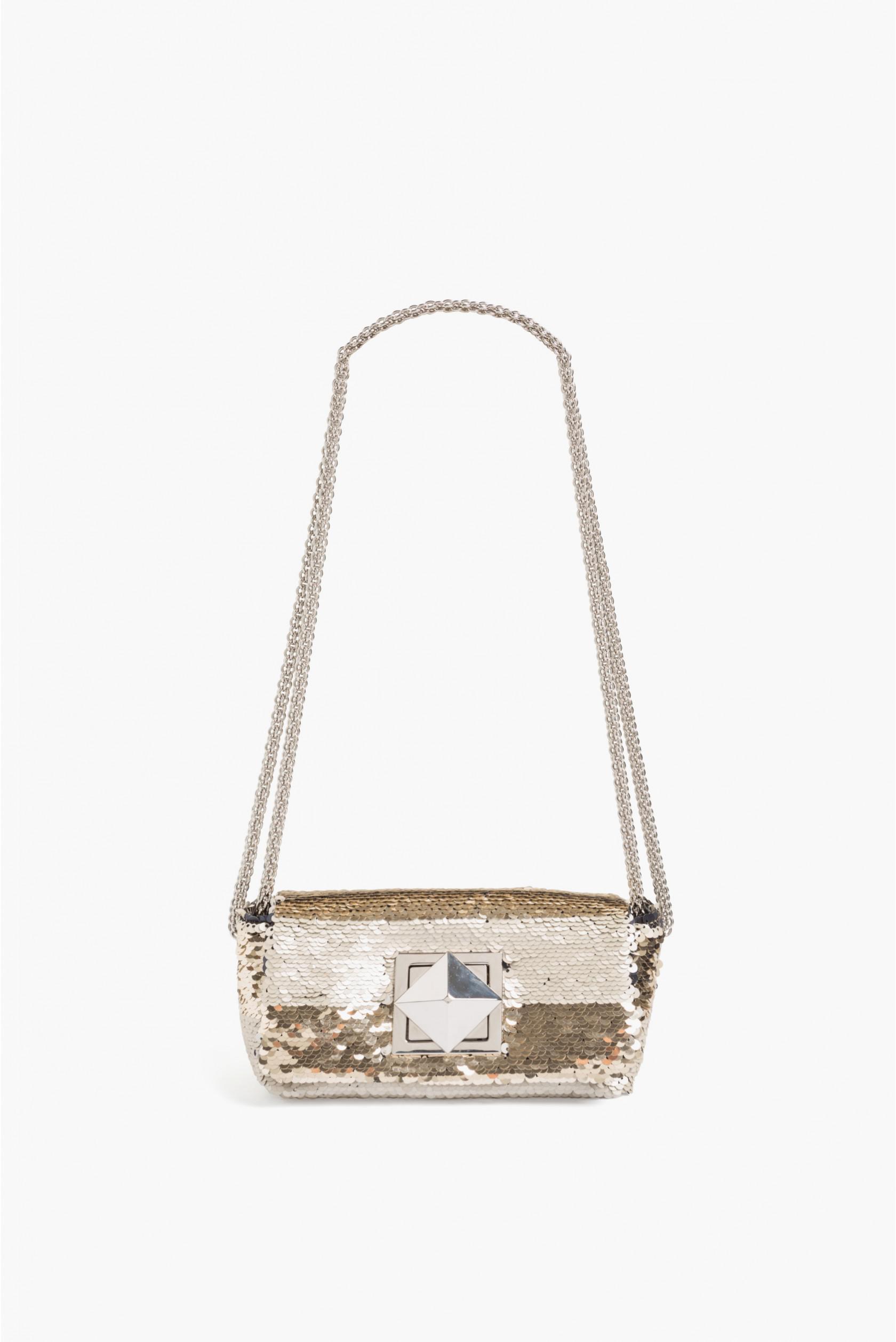 0368bd58f7 Lyst - Sonia Rykiel Le Copain Two-tone Sequin Bag