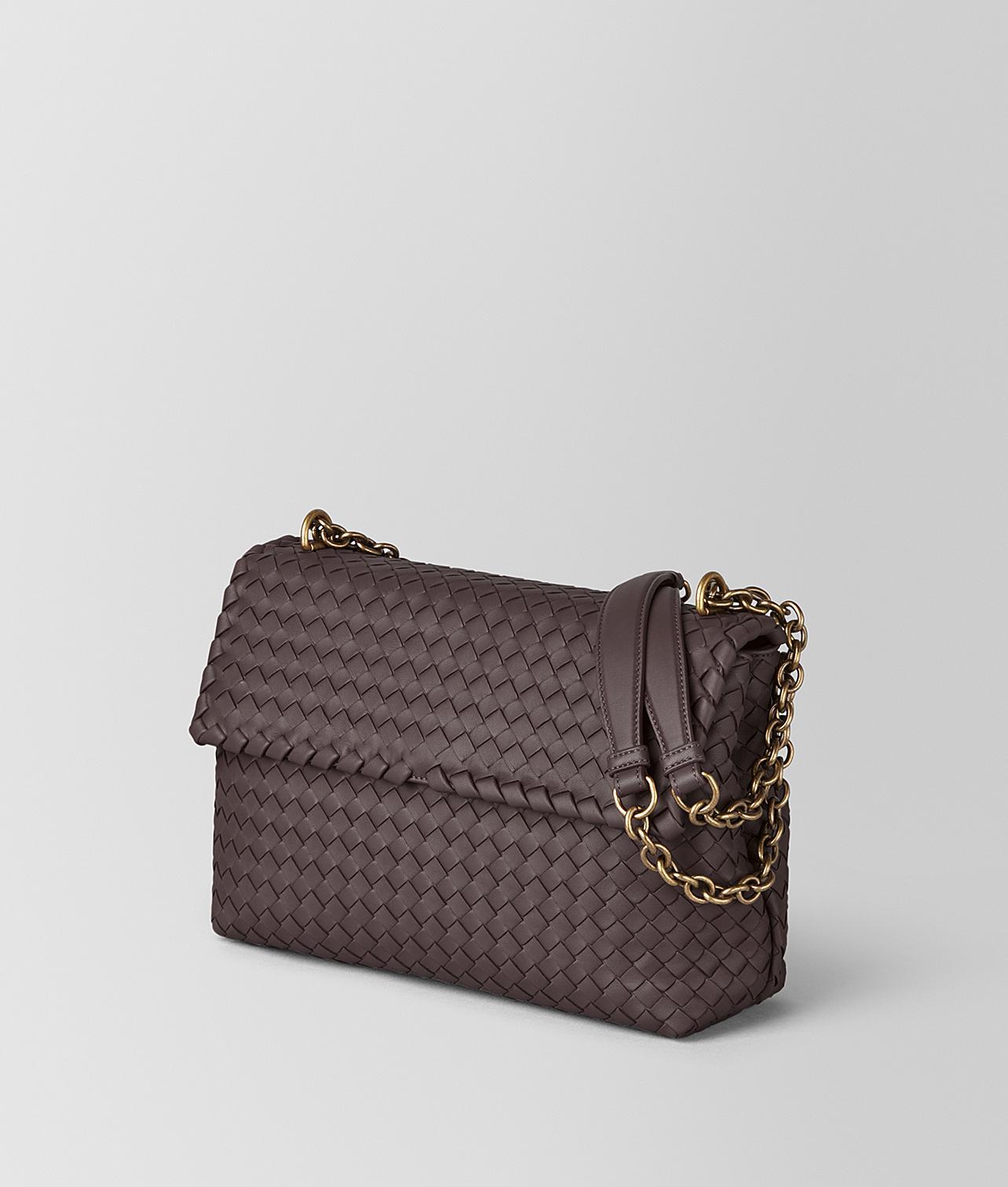 536a70334e6e Lyst - Bottega Veneta Large Olimpia Bag in Brown
