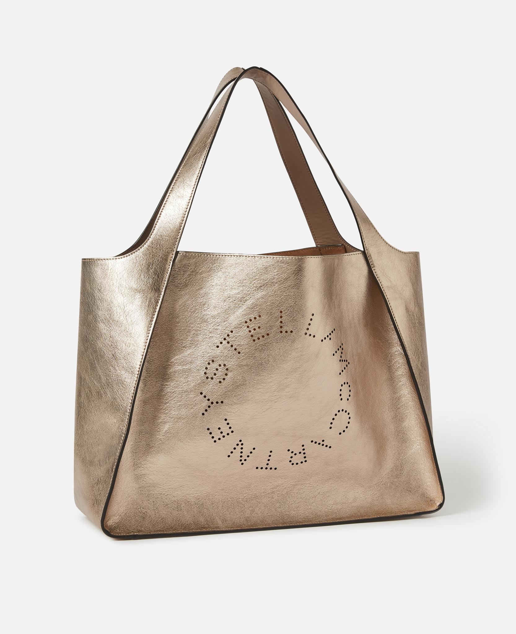 7d54a3a47454 Lyst - Stella McCartney Stella Logo Tote Bag in Natural