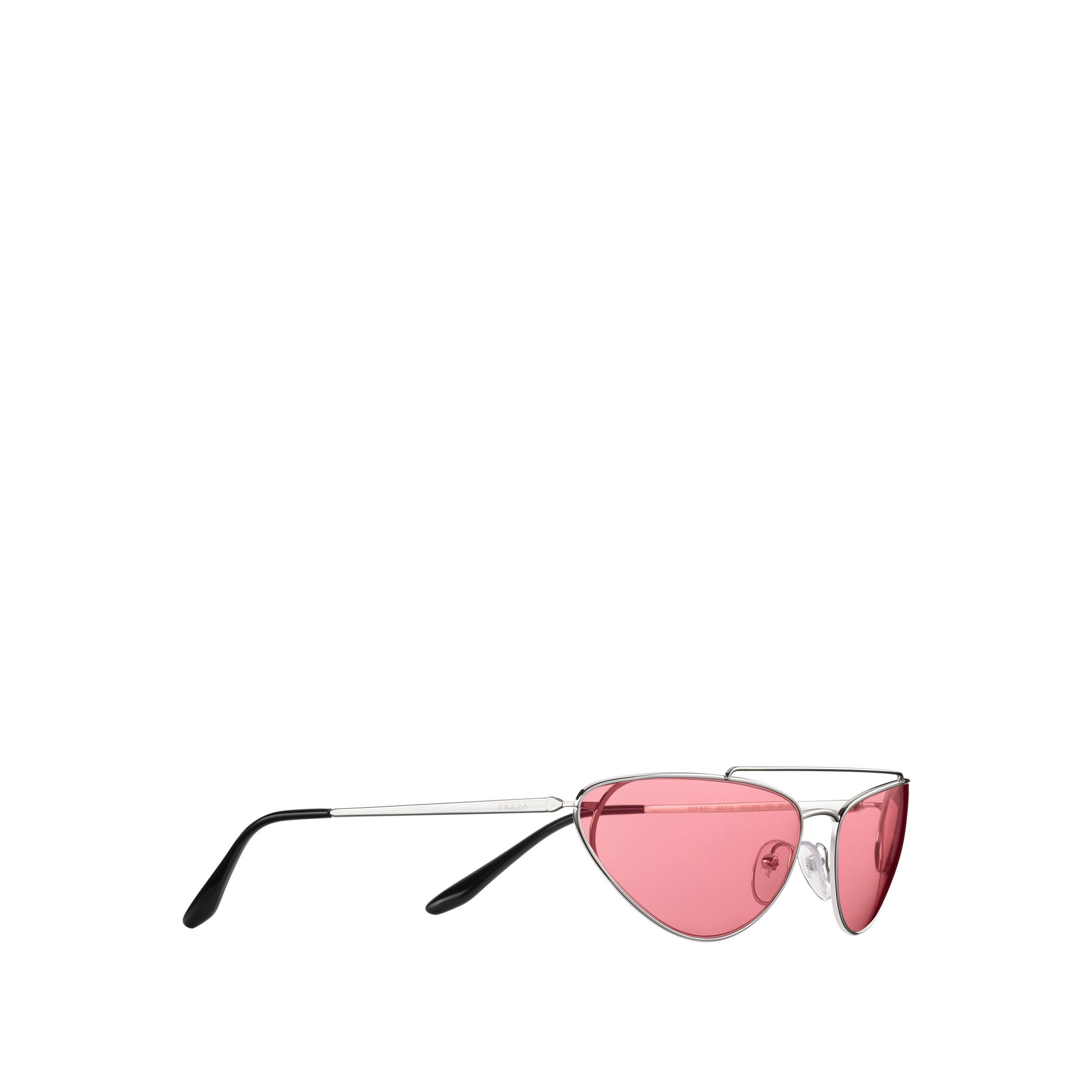 f0bb0042545 Prada - Pink Ultravox Sunglasses - Lyst. View fullscreen