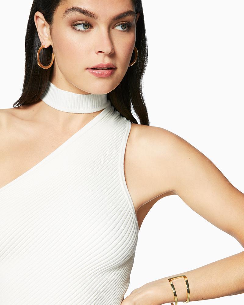 85067a894def9 Lyst - Ramy Brook Portia Sweater in White