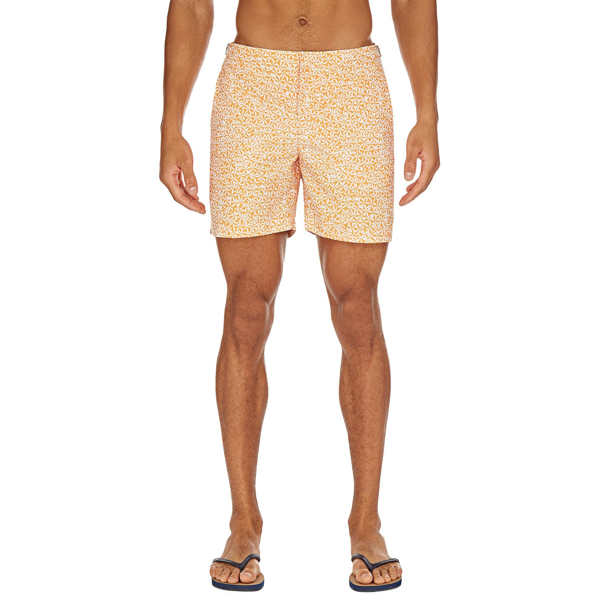 a5ccd225dc Orlebar Brown - Multicolor Bulldog Foglia Tangerine Mid-length Swim Shorts  for Men - Lyst. View fullscreen