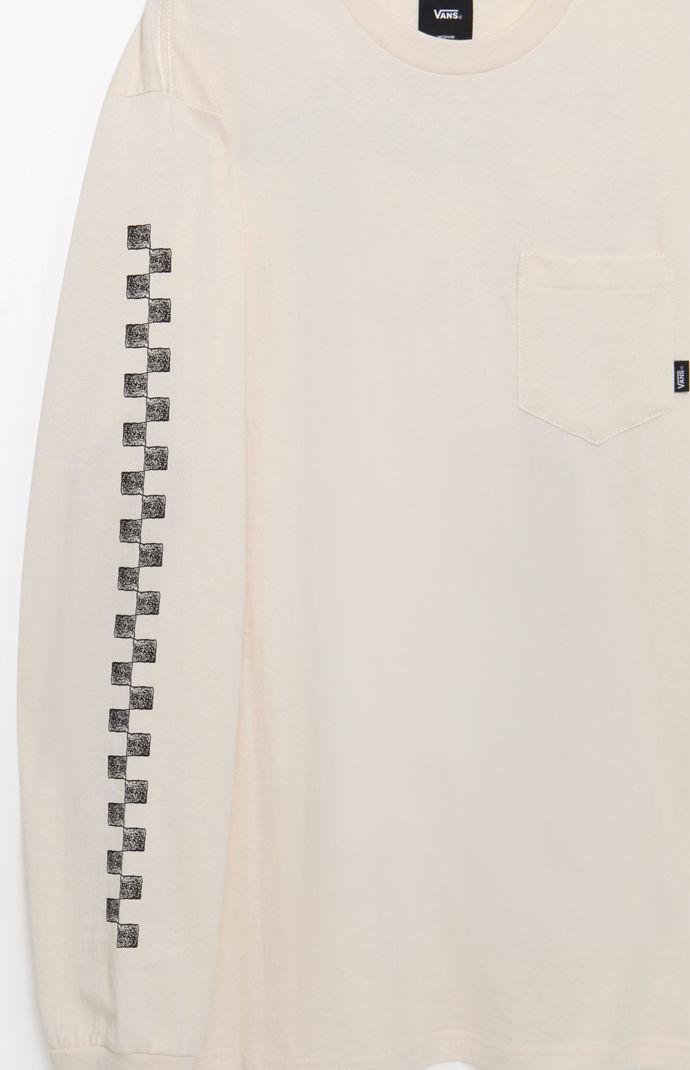 53979121f9fe Lyst - Vans Vintage Square Root Long Sleeve T-shirt in White for Men
