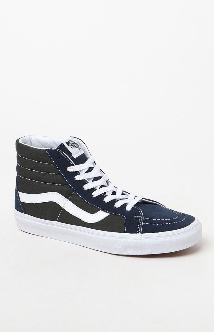d1f839fde654a1 Lyst - Vans Sk8-hi Reissue 2-tone Shoes in Blue for Men
