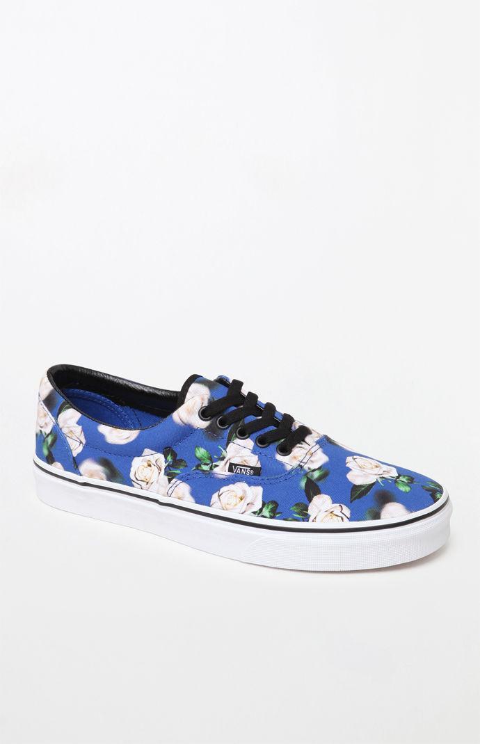 ed612e0d372c62 Vans - Blue Romantic Floral Era Shoes for Men - Lyst. View fullscreen