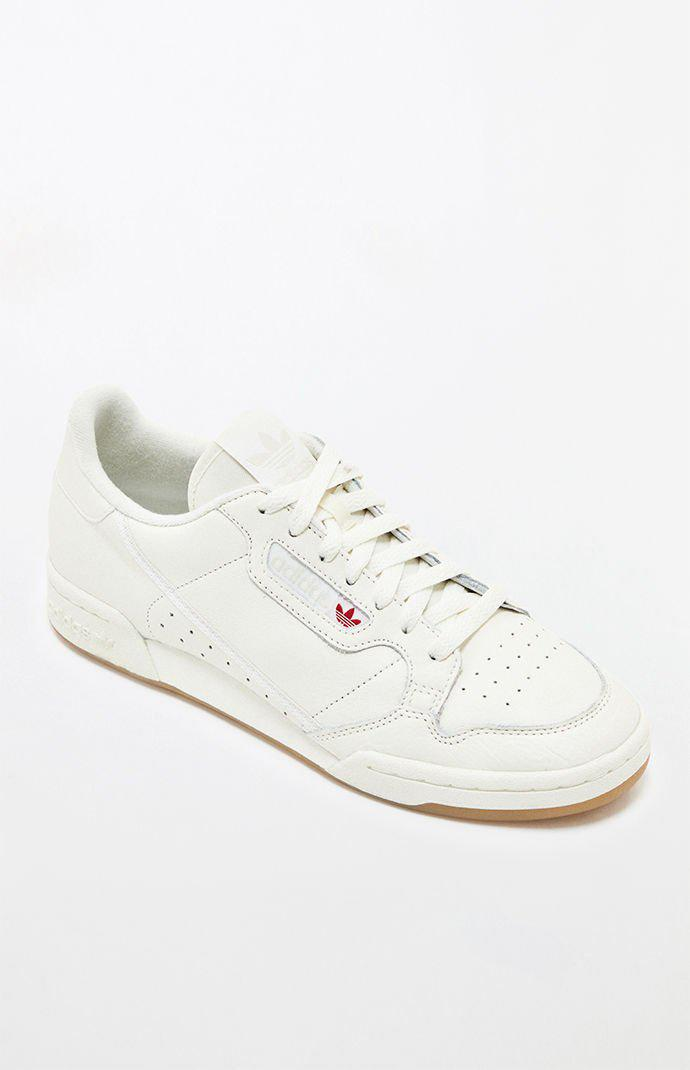 294f8f51607 Lyst - adidas Continental 80 White   Gum Shoes in White for Men