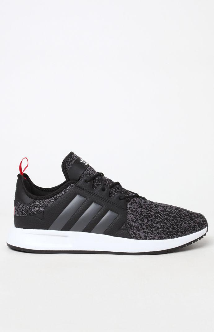 427e40dc4 Adidas - X  Plr Knit Black   Gray Shoes for Men - Lyst. View fullscreen
