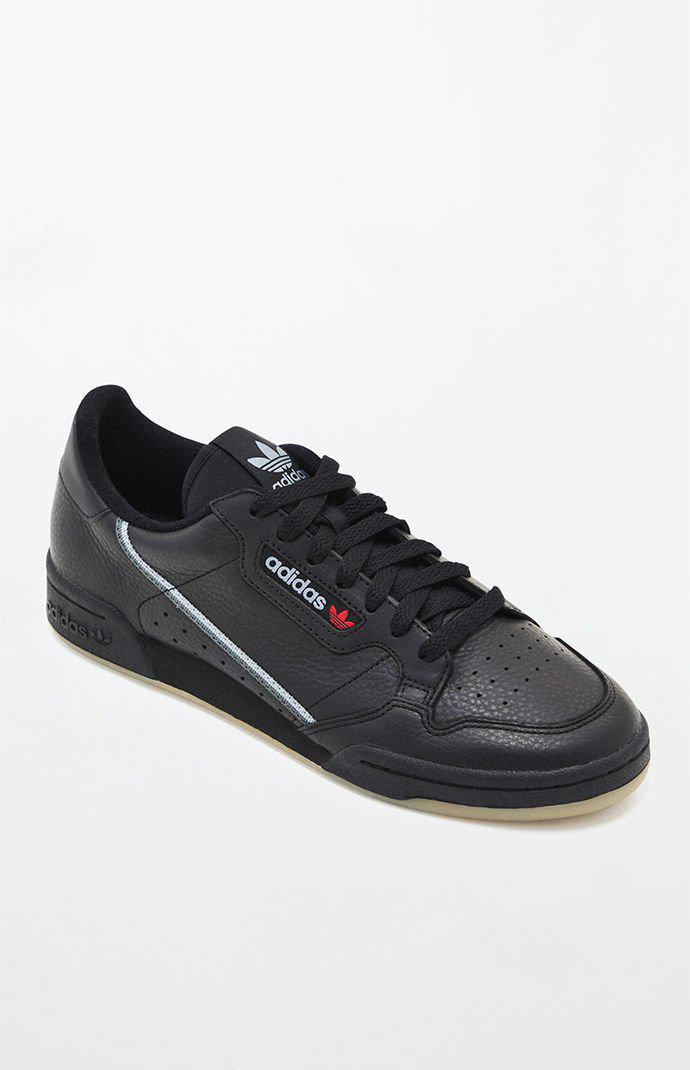 9e86922c678 Lyst - adidas Continental 80 Black   Gum Shoes in Black for Men
