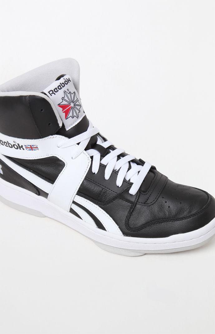 cf194d1cf2b6 Lyst - Reebok Bb 5600 Archive Black   White Shoes in Black for Men