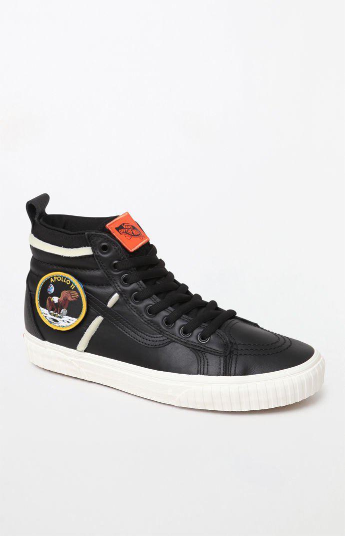 32b68ddfbb Lyst - Vans X Nasa Space Voyager Sk8-hi 46 Dx Black Shoes in Black ...