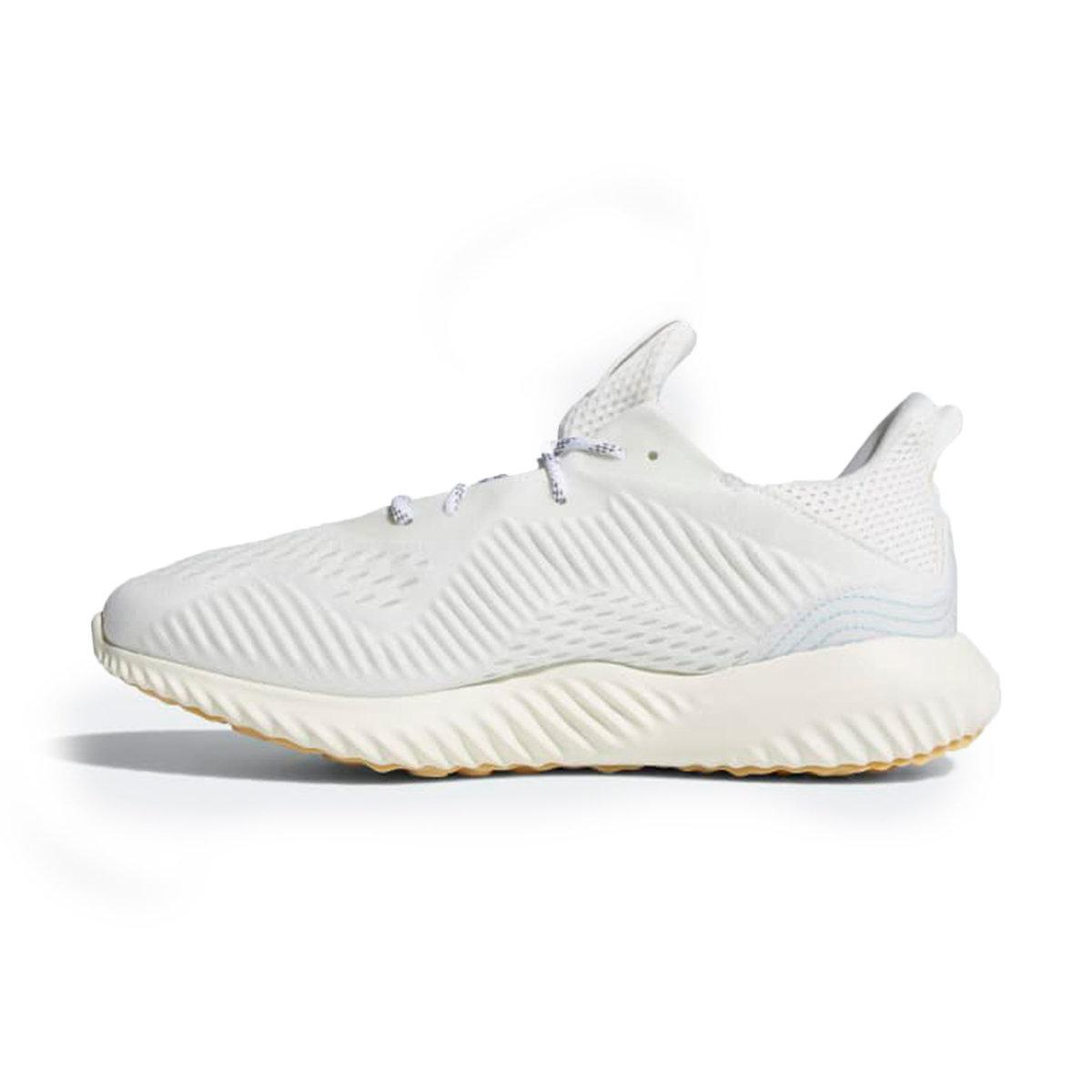 finest selection b93c1 b4e8f Adidas - White Alphabounce Parley Running Shoes for Men - Lyst. View  fullscreen