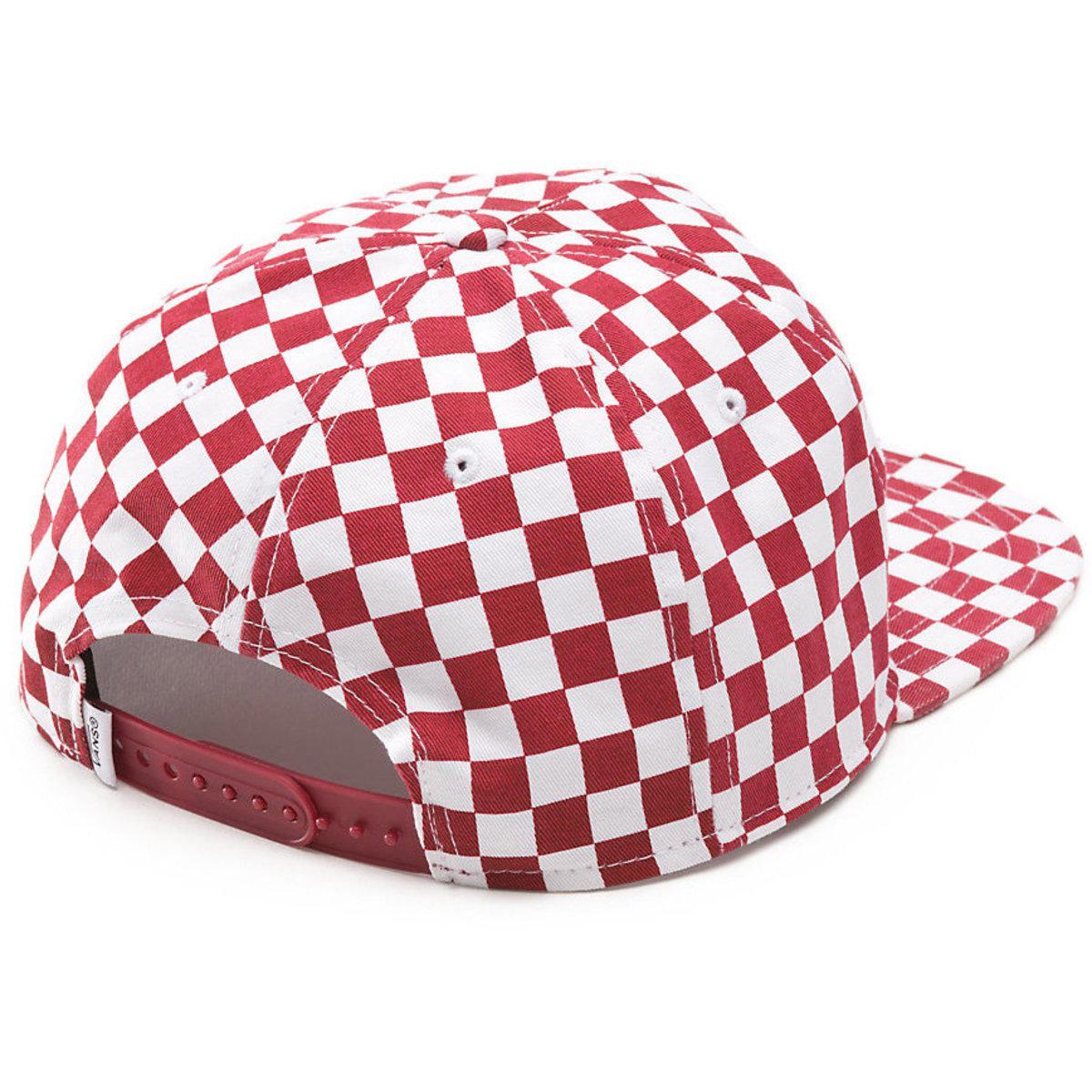 99000c41 Vans - Red Van Doren Special Snapback Cap for Men - Lyst. View fullscreen