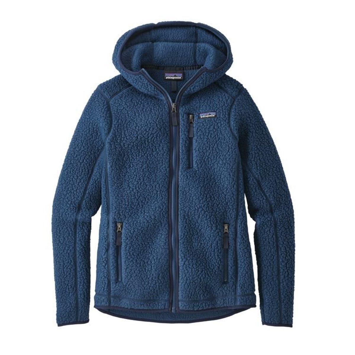 b9a1cd6609d9 Lyst - Patagonia Retro Pile Fleece Hoody in Blue
