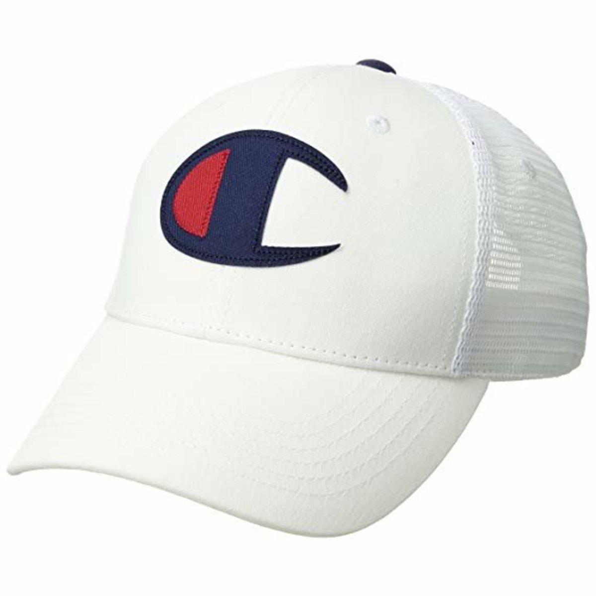 05c0d22e303 Lyst - Champion Twill Mesh Dad Cap in White