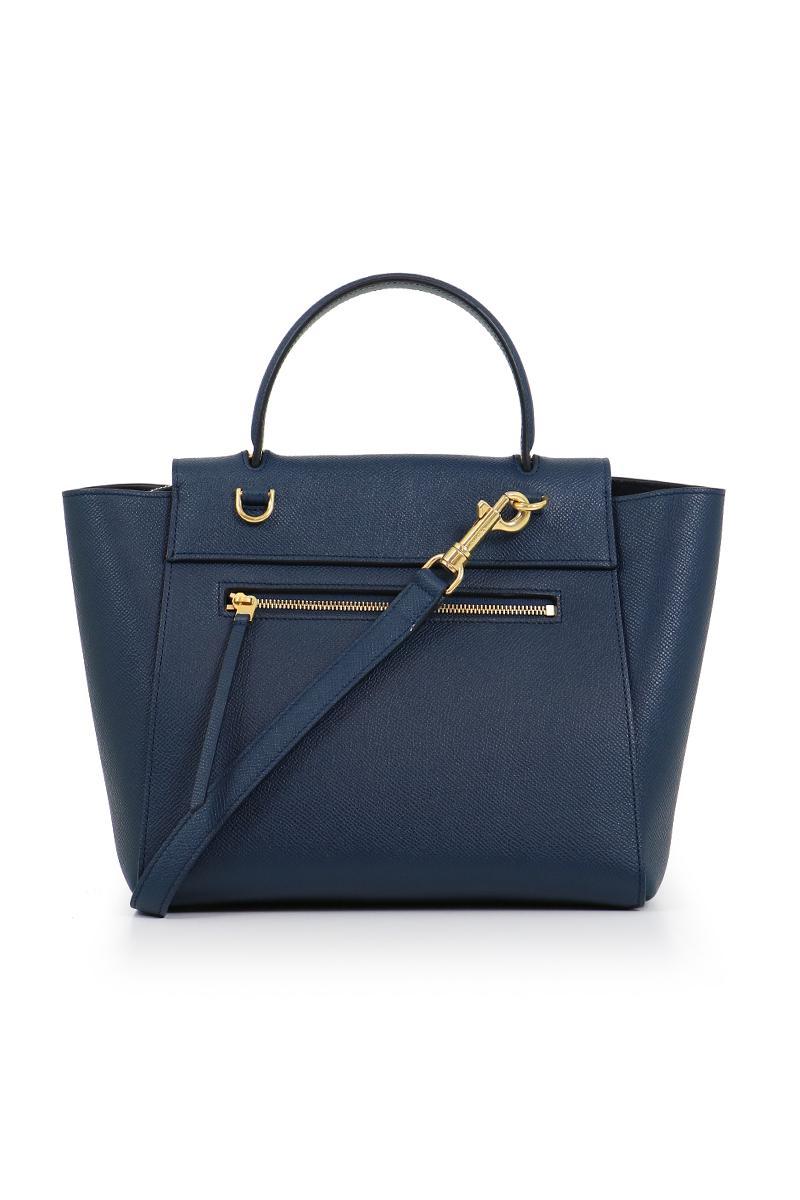 2d95d8ad6e Céline Micro Belt Bag Steel Blue in Blue - Lyst