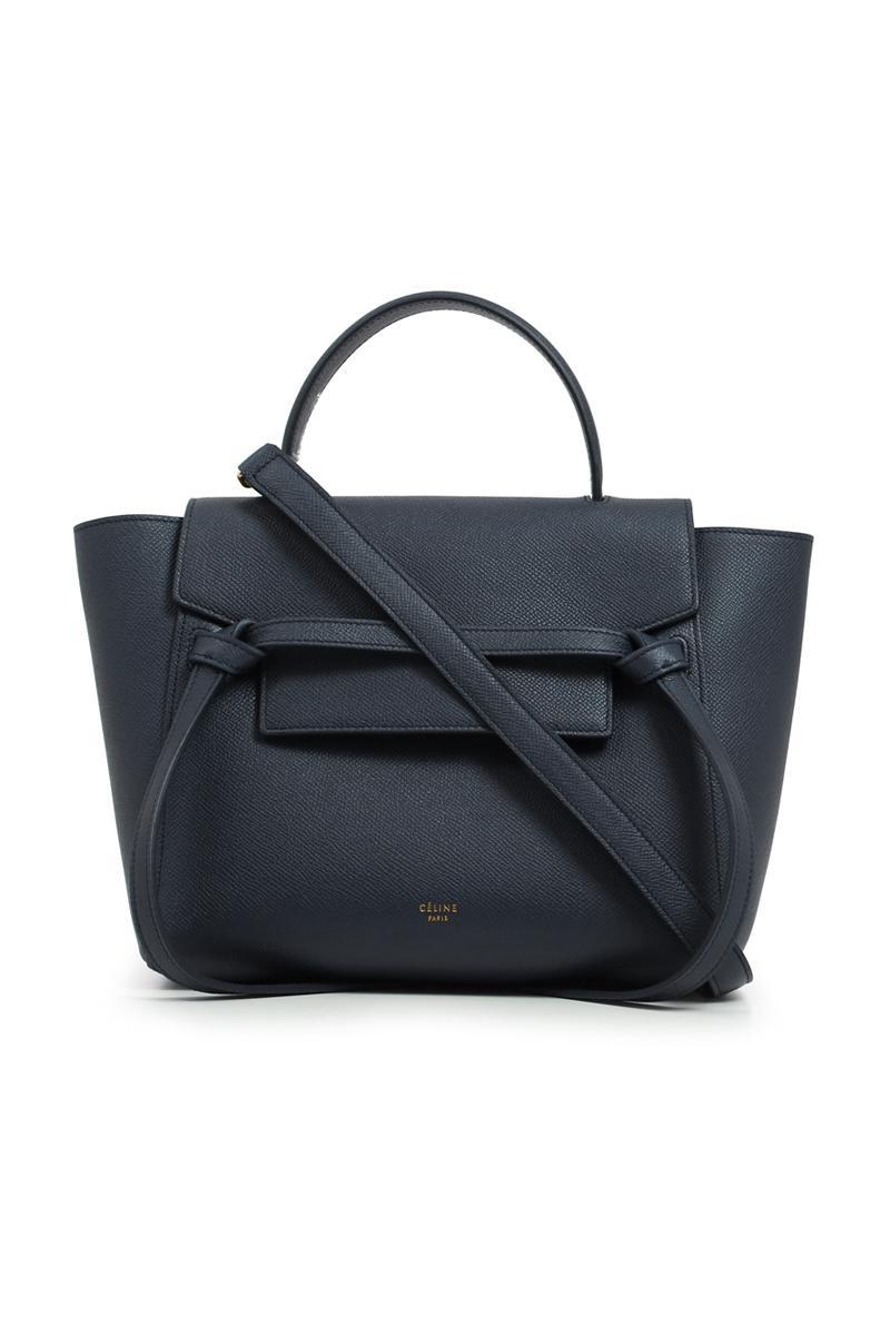 Céline Micro Belt Bag Dark Navy in Blue - Lyst d95fa1565c