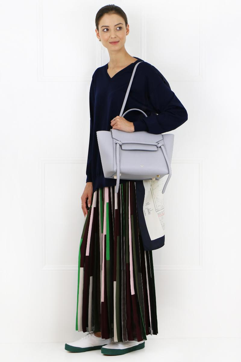 Lyst - Céline Mini Belt Bag Light Grey in Gray c31dd2ca9efe4