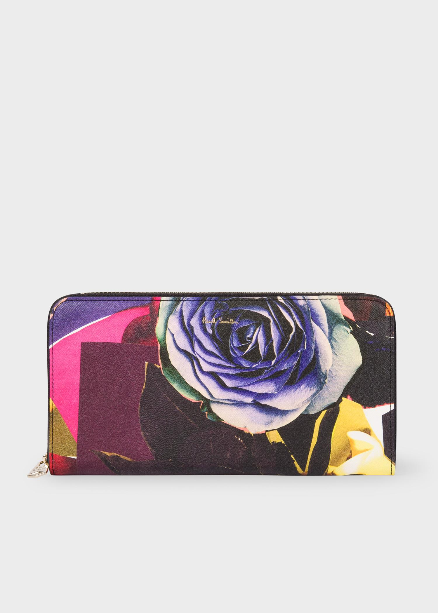 Multicolor Collage Rose Pouch Paul Smith Buy Cheap Exclusive Cheap Wide Range Of Sale Online Cheap Cost Cheap Price 100% Guaranteed Cheap Price 1KFv1YVI