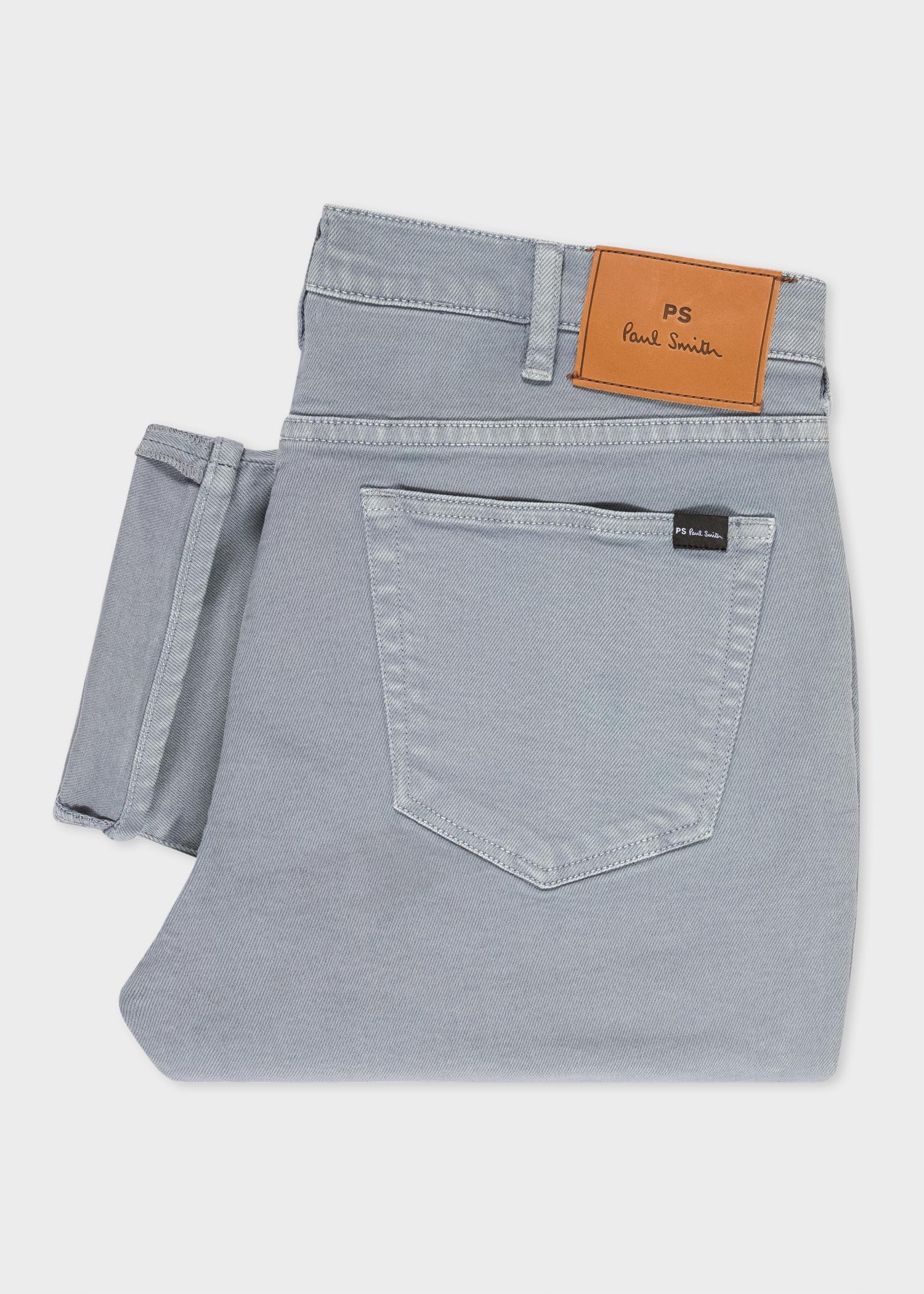 d1a158fabdec Paul Smith - Gray Slim-standard Grey Jeans for Men - Lyst. View fullscreen