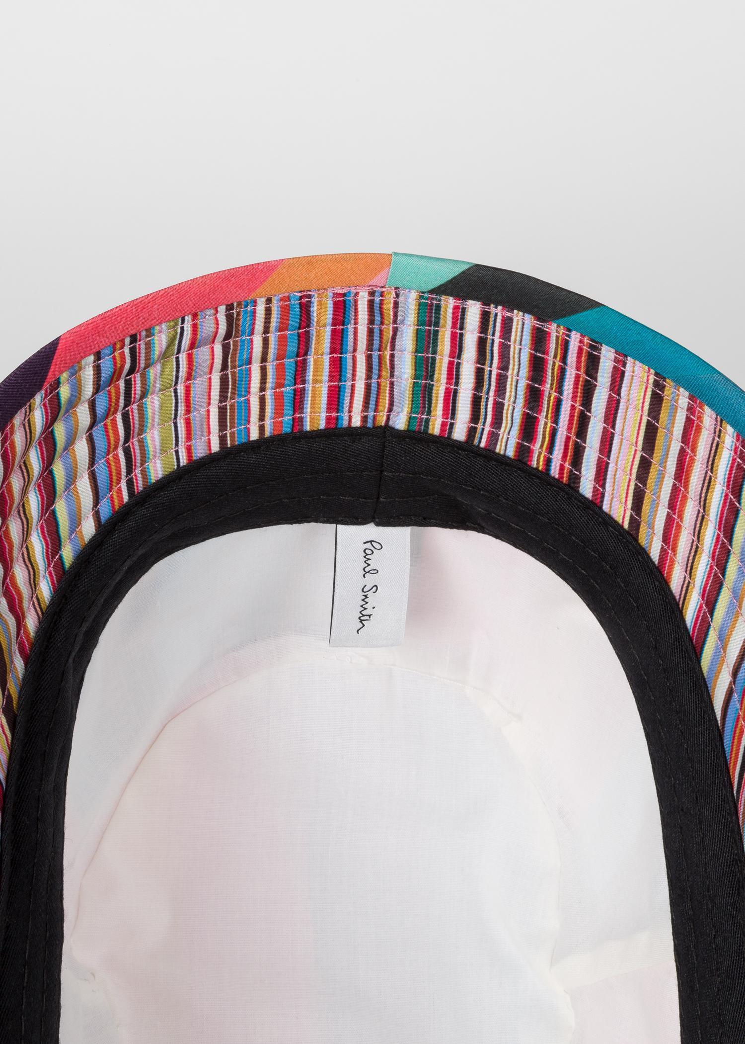 c323c80c0676c0 Paul Smith - Multicolor 'artist Stripe' Print Bucket Hat for Men - Lyst.  View fullscreen