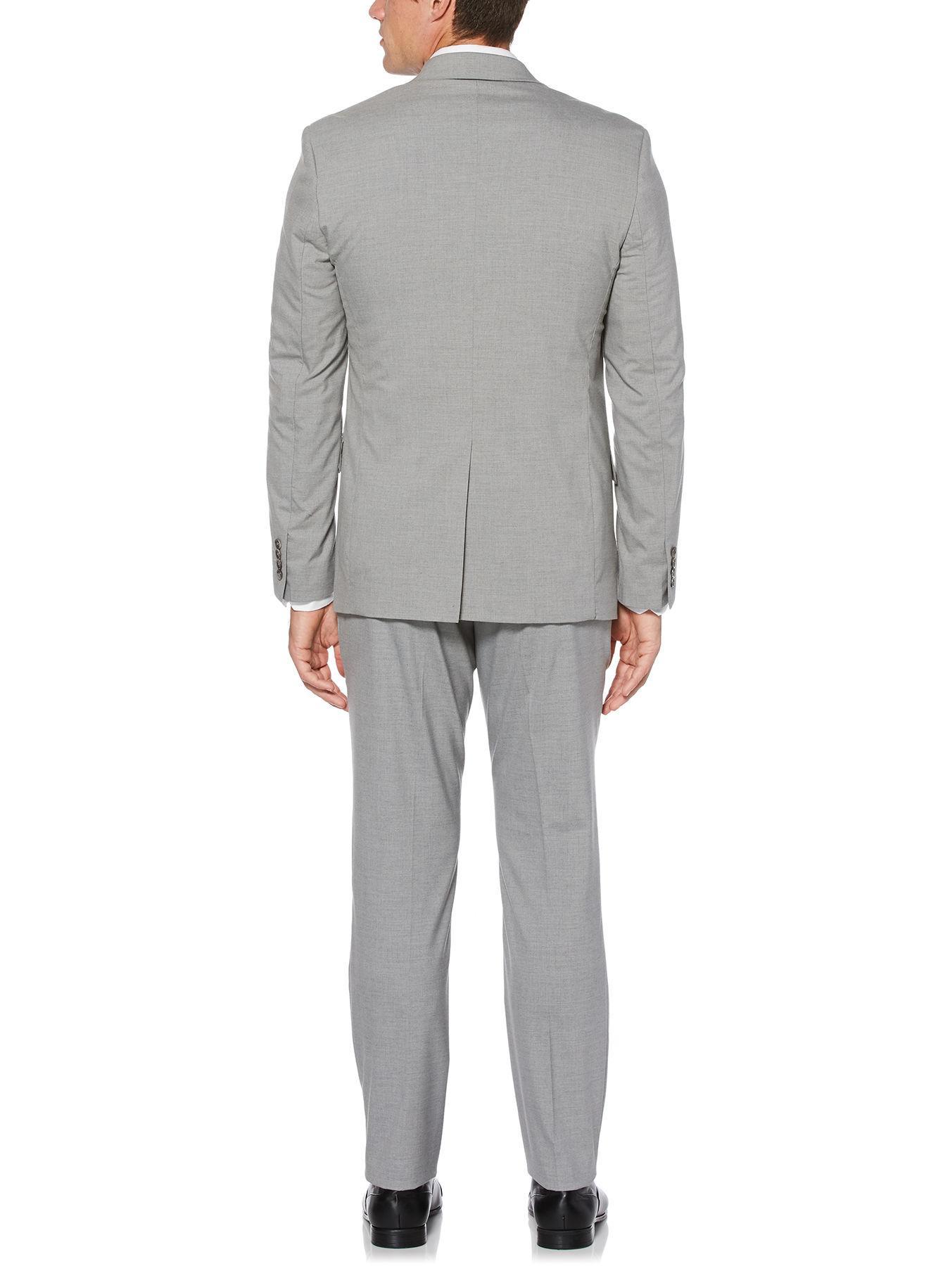 8e28231de1 Perry Ellis - Gray Modern Fit Heathered Suit Jacket for Men - Lyst. View  fullscreen