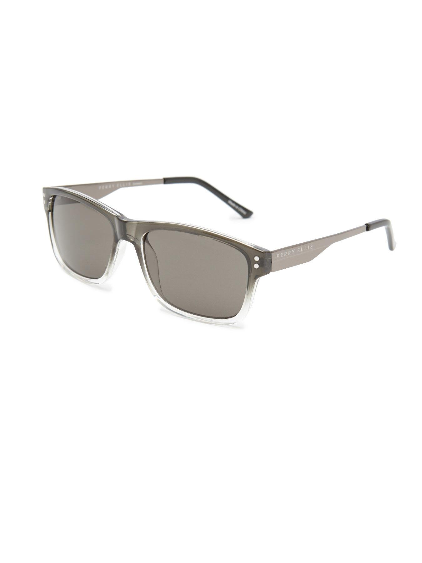 86eab885296 Perry Ellis - Gray The Ombre Frame Sunglasses for Men - Lyst. View  fullscreen