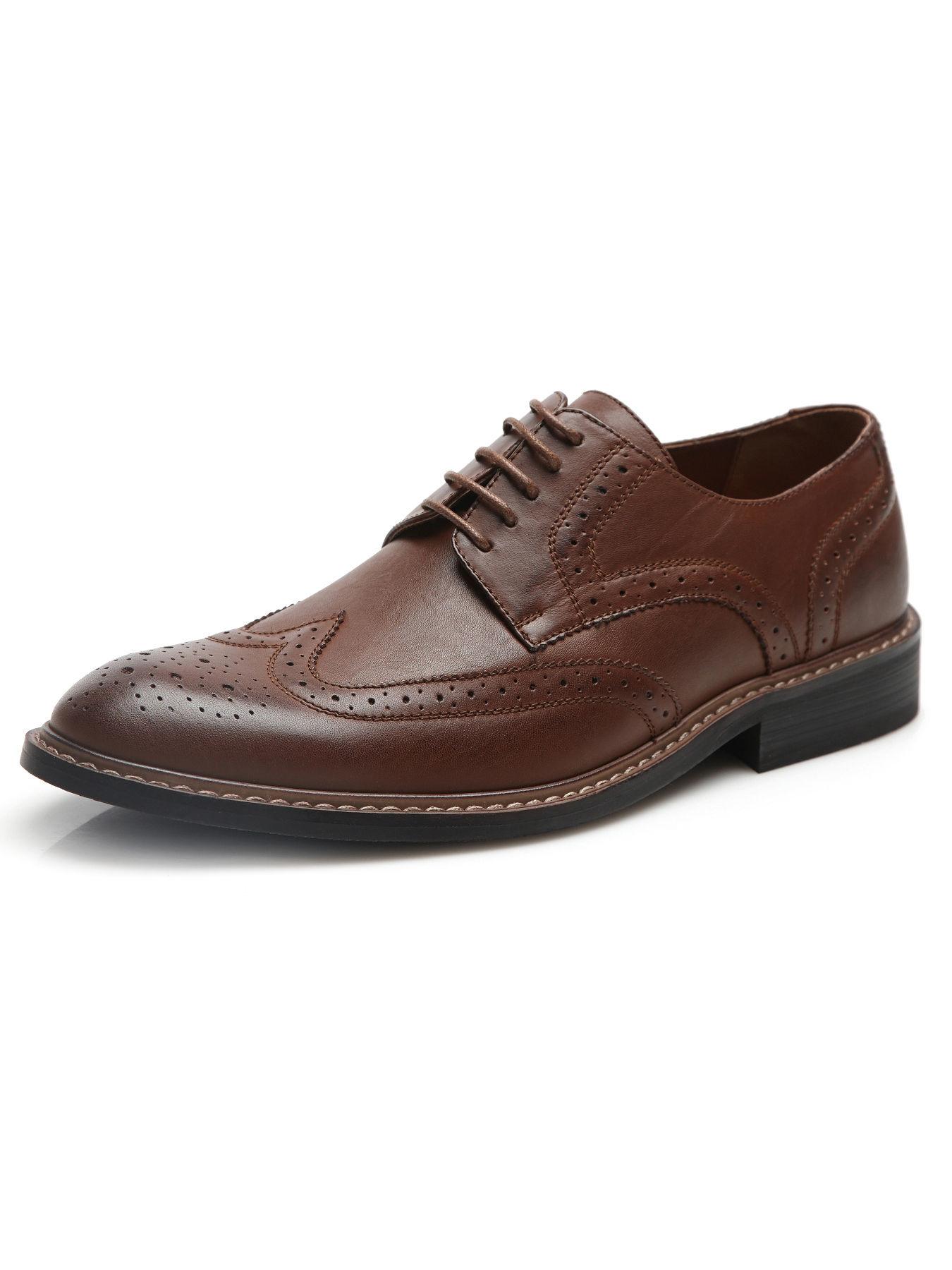 Lyst Perry Ellis Portfolio Oxford Dress Shoe In Brown