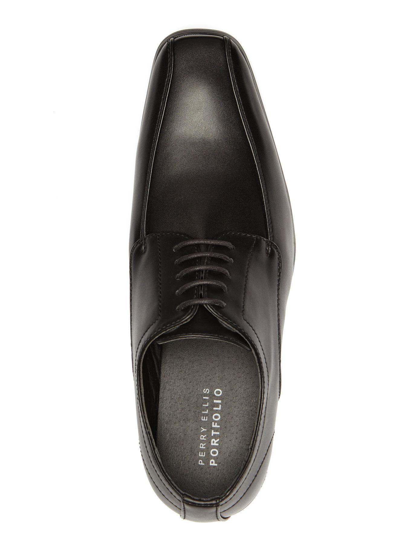4939e1e1d6 Lyst - Perry Ellis Stanley Dress Shoe in Black for Men