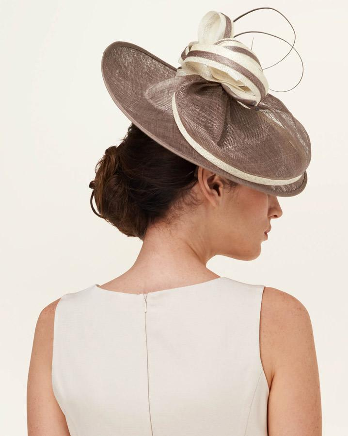Lyst - Phase Eight Clara Contrast Trim Fascinator 81285e1d471