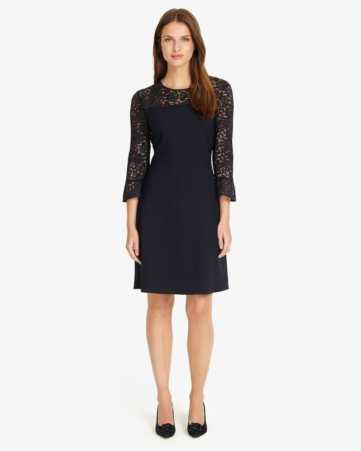 0f235d921594 Lyst - Phase Eight Esme Lace Dress in Blue