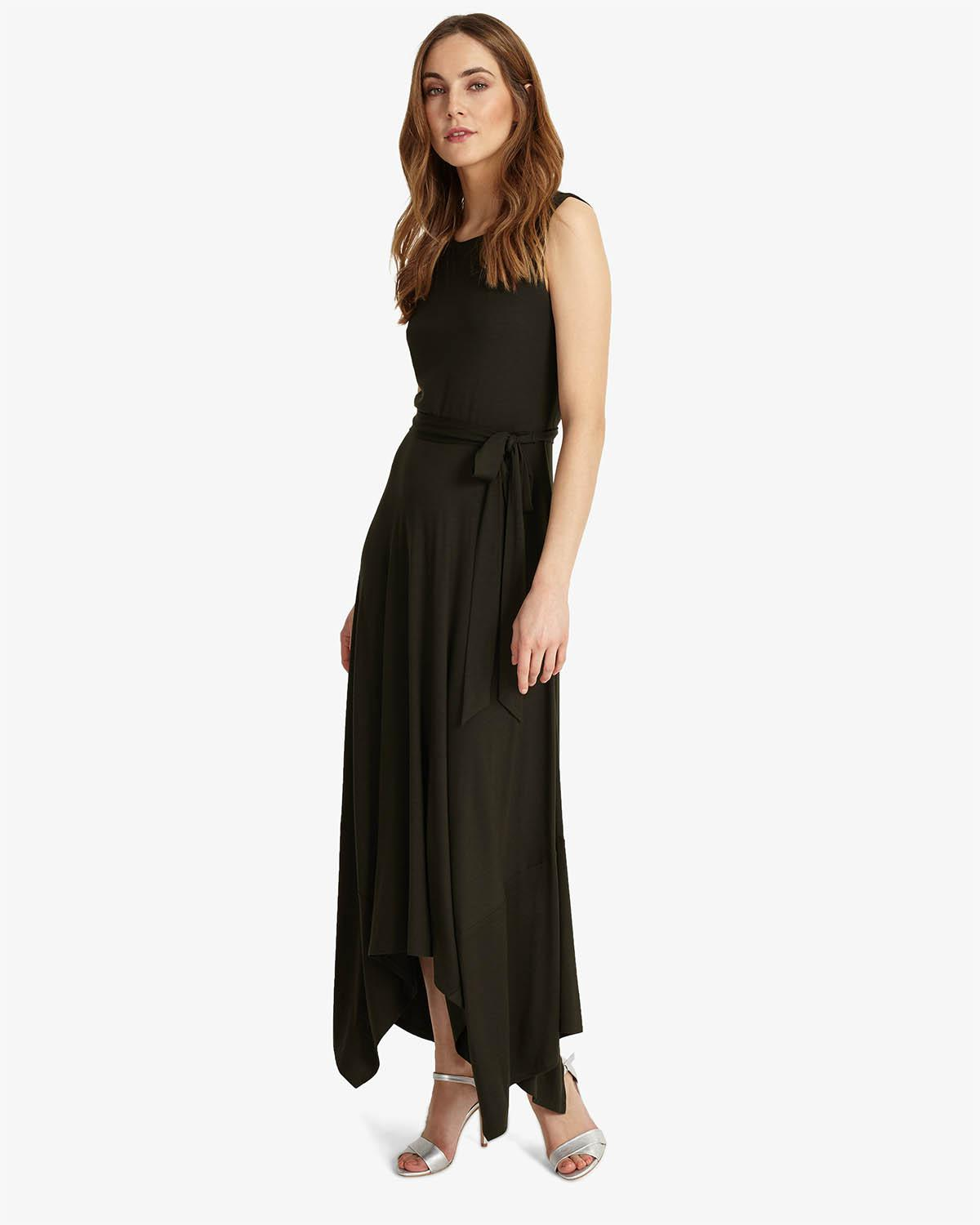 6d64b3a23d Phase Eight Margot Maxi Dress in Black - Lyst