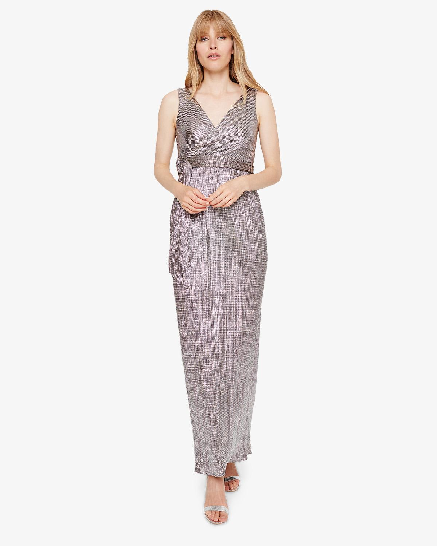 0cf2e491791c6 Phase Eight Hazar Metallic Maxi Dress in Metallic - Lyst