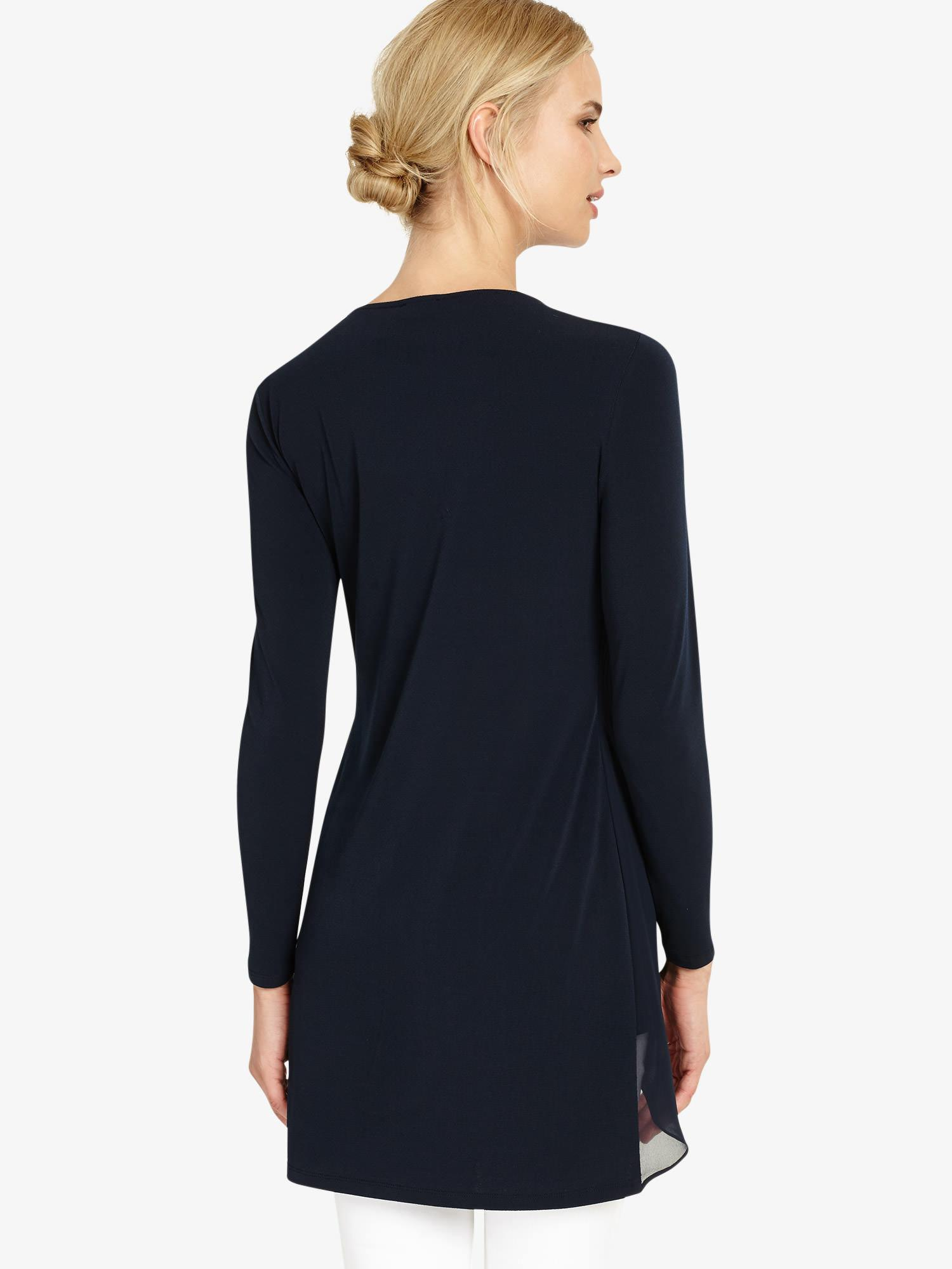 e20f6db5086 Phase Eight Vinny Long Sleeve Tunic in Blue - Save 53% - Lyst