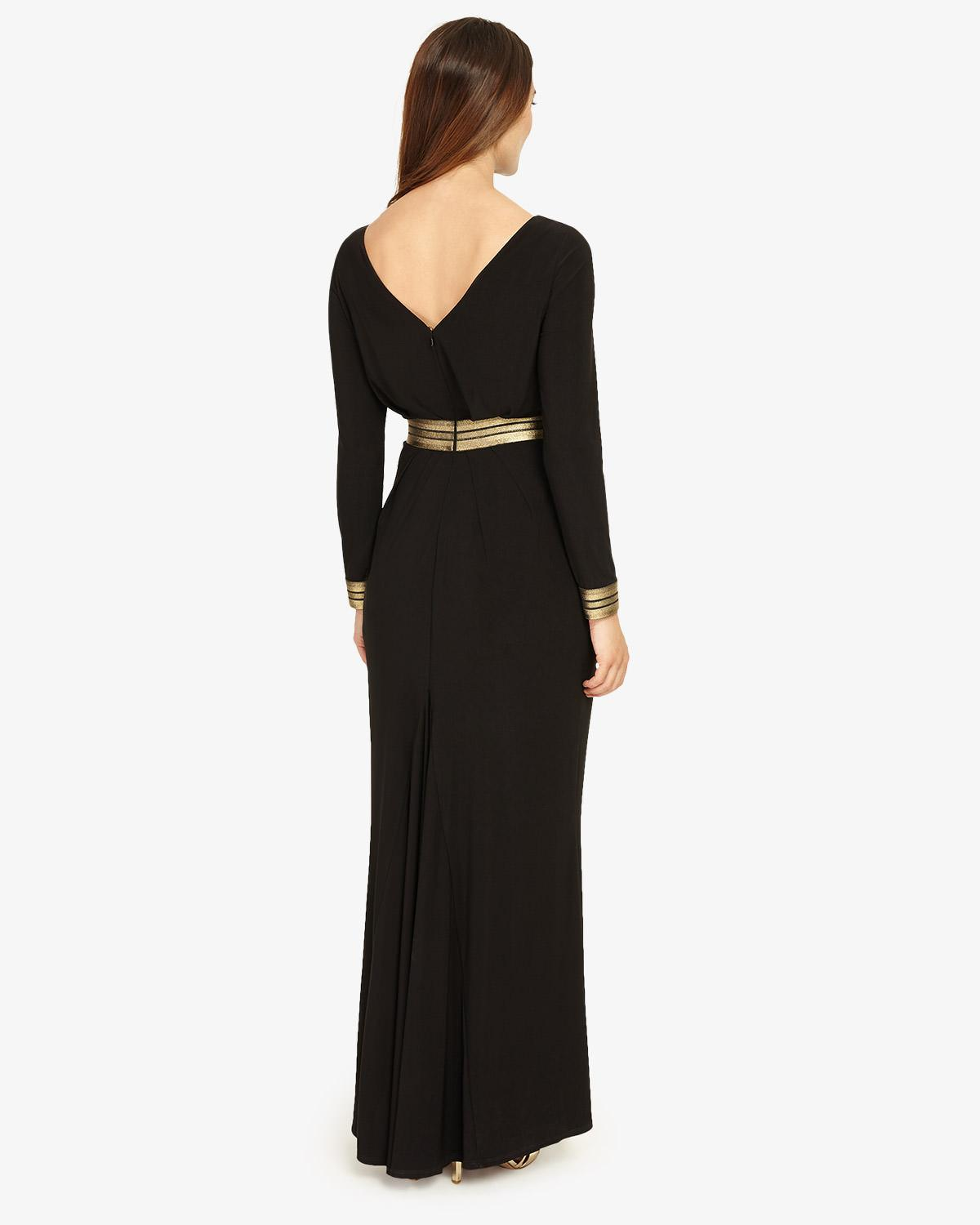 c025151c707d3 Phase Eight Faber Maxi Dress in Black - Lyst