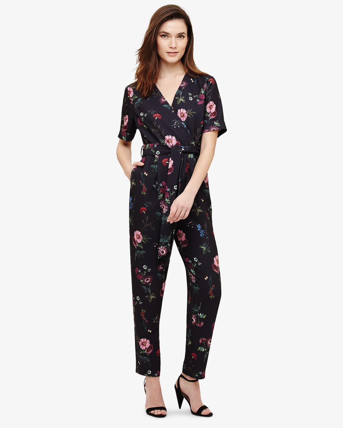 28f5e8086cfb Phase Eight Alicia Floral Jumpsuit in Blue - Save 15% - Lyst