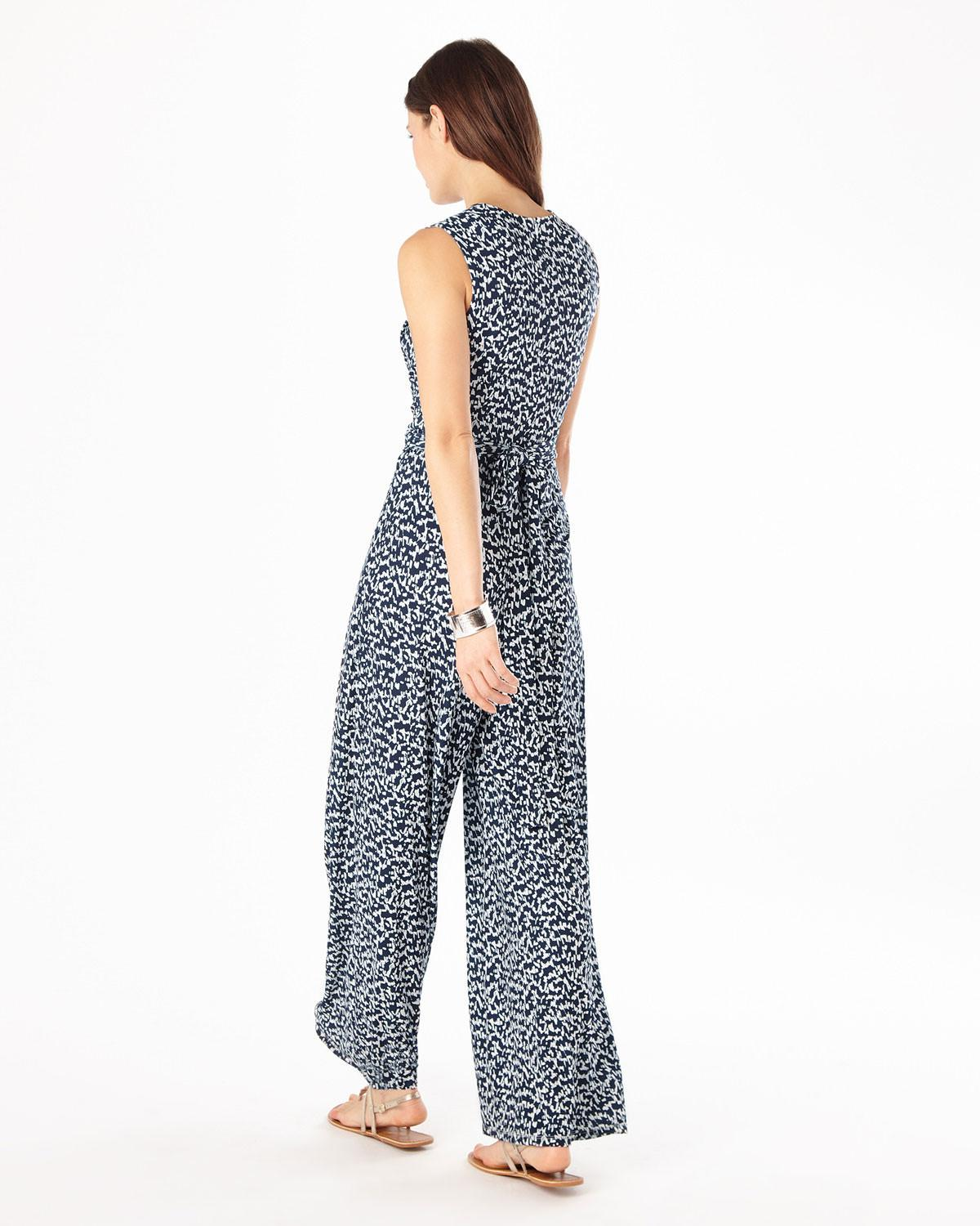 8070cc2cf65f Lyst - Phase Eight Bette Printed Jumpsuit
