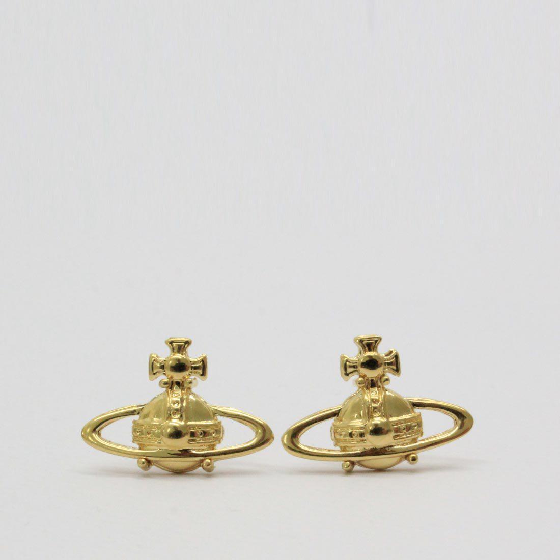 5d118024f Vivienne Westwood Suzie Earrings Gold in Metallic - Lyst