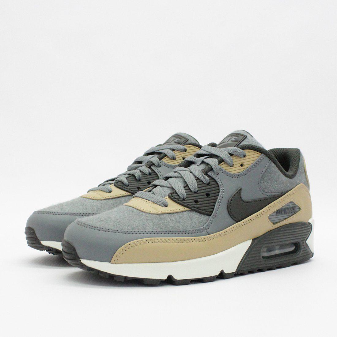 732272e0a97c0 Nike Trainers - Gray Nike Air Max 90 Premium Cool Grey 700155 010 for Men  -. View fullscreen