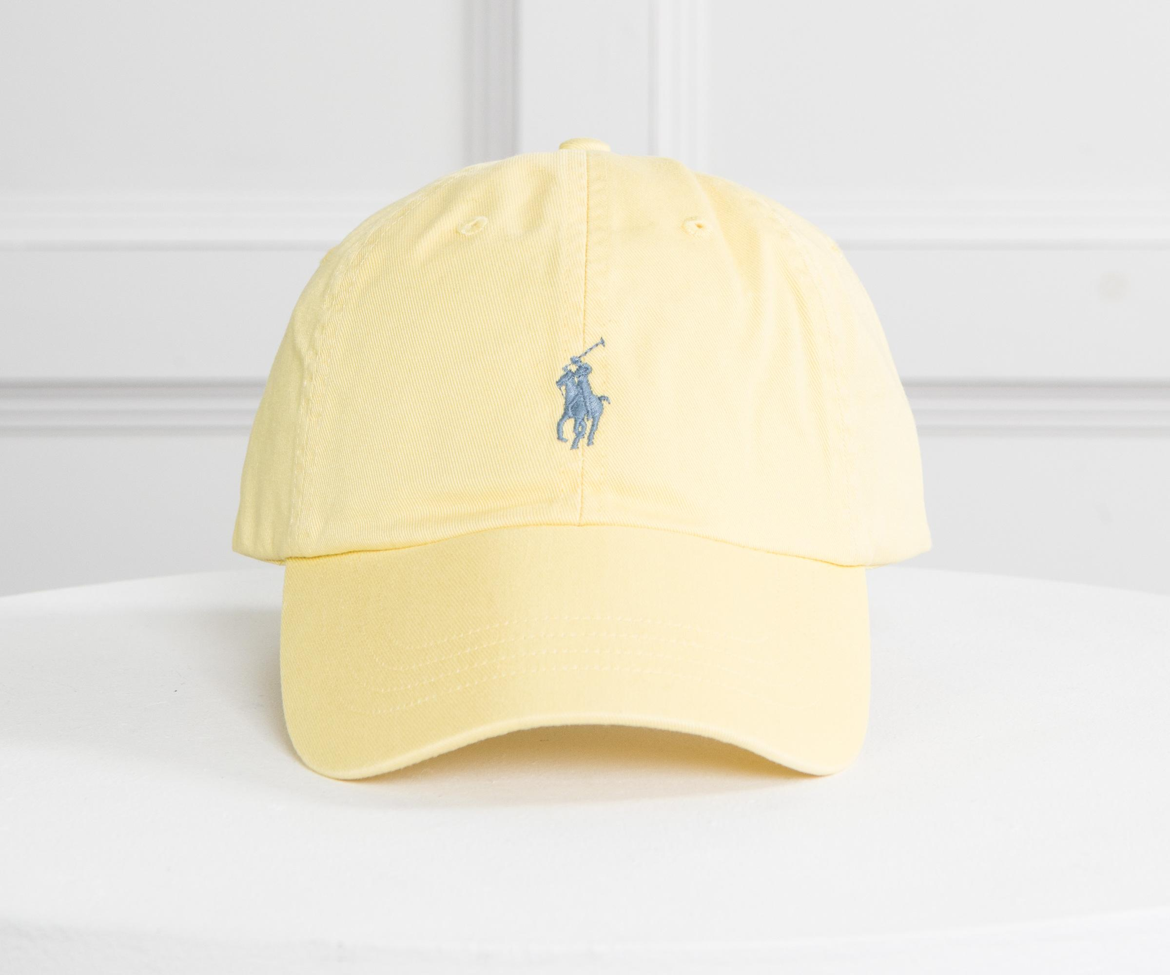 c8619b58 Polo Ralph Lauren Classic Cap Yellow With Blue Horse in Yellow for ...