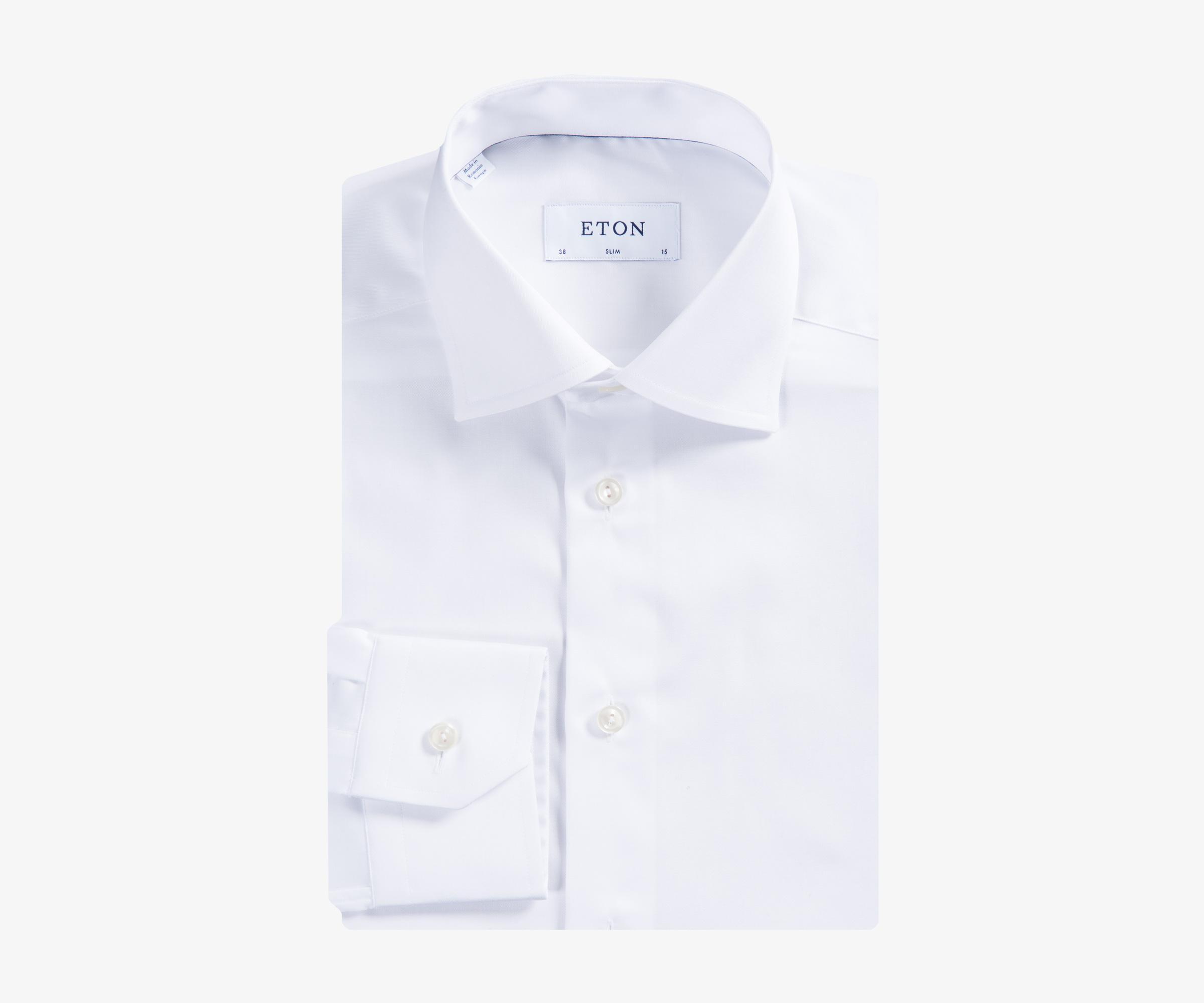 Eton Extra Slim Fit Stripe Dress Shirt