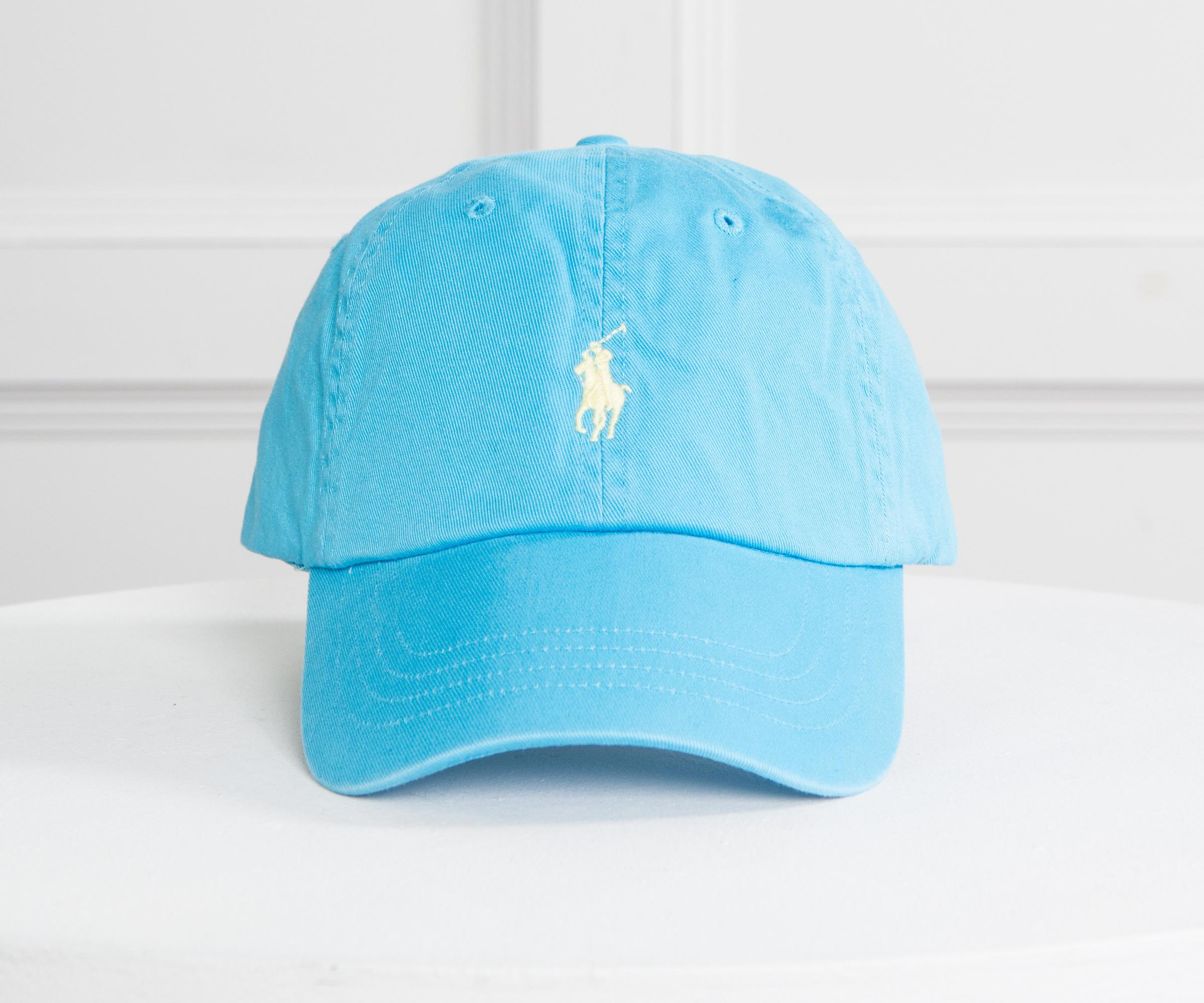 493e416c Polo Ralph Lauren Classic Cap Sky Blue With Yellow Horse in Blue for ...
