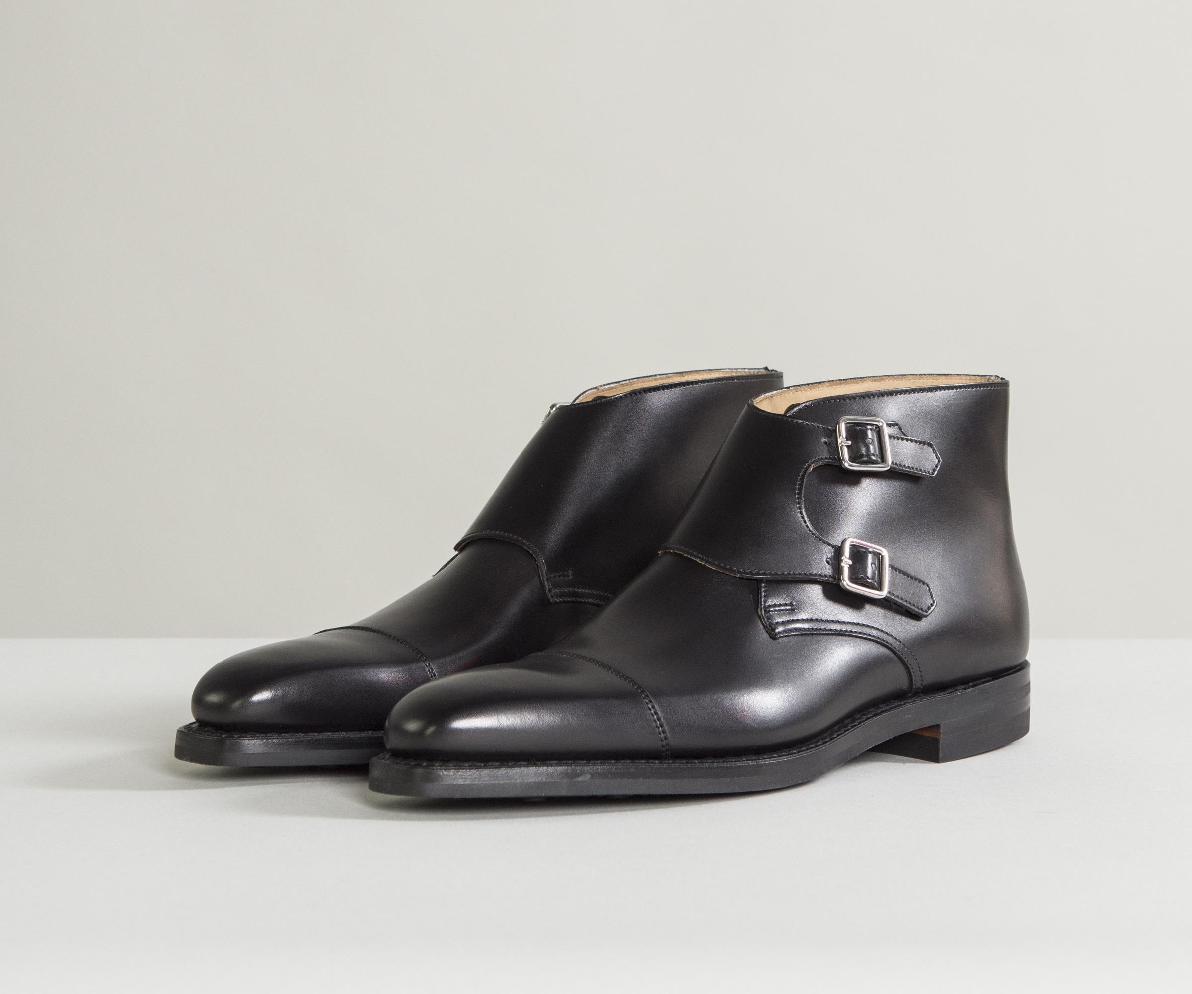 Camberley Burnished Calf Leather Boots Brown Crockett & Jones znBVmPrkN