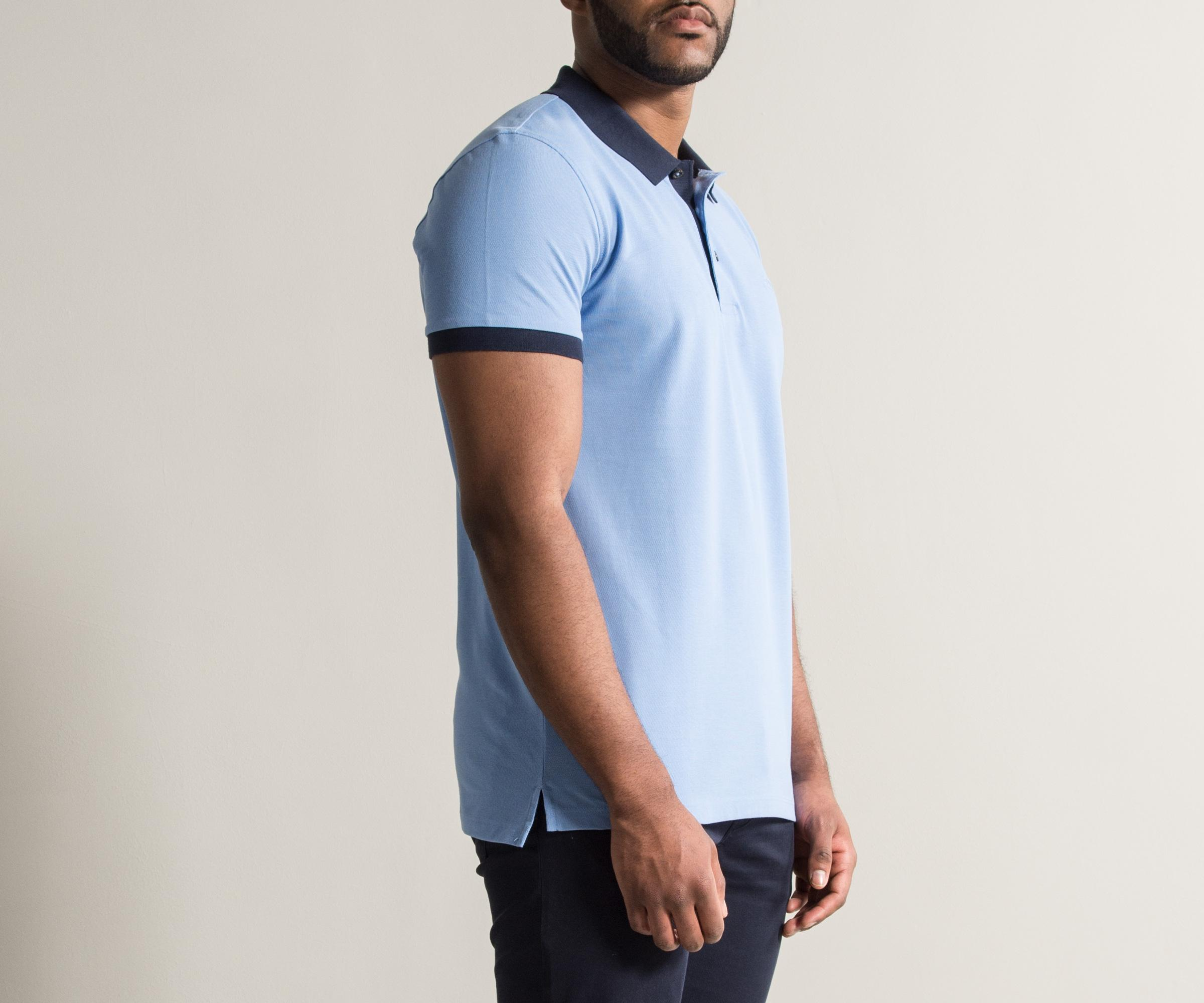 db864f917 Boss 'phillipson26' Slim Fit Polo Summer Blue in Blue for Men - Lyst