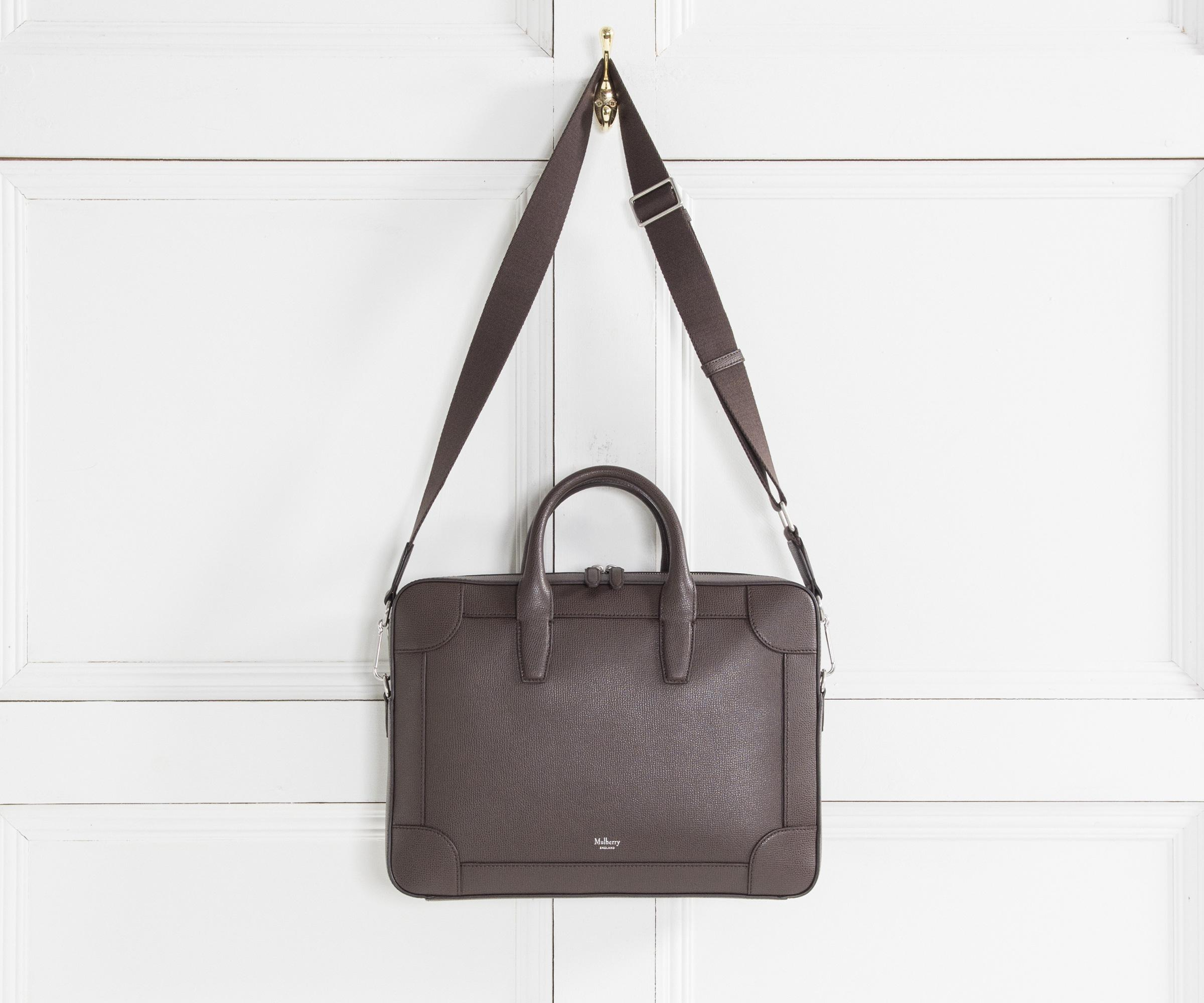 Lyst - Mulberry  belgrave  Single Document Case Chocolate in Brown ... f58ee1257955b