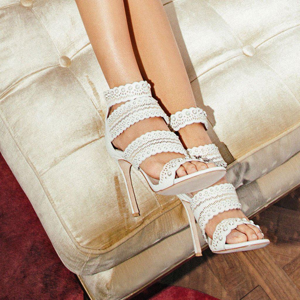 Pour La Victoire Ellura Leather Sandal IAjT0j