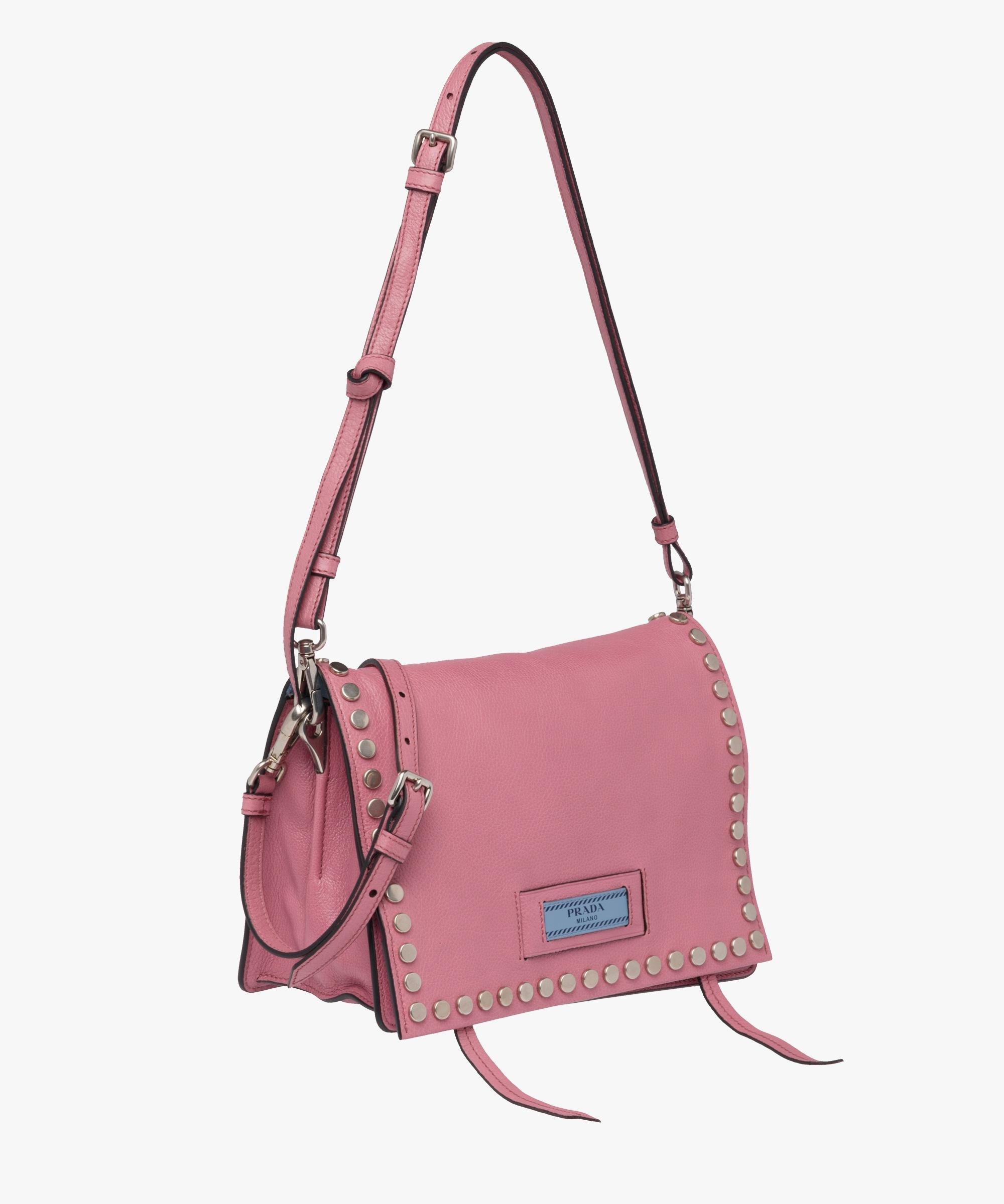 0ee09b738f2 Lyst - Prada Etiquette Bag in Pink
